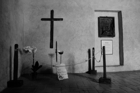 A shot taken at San Damiano while on pilgrimage in Assisi, Italy